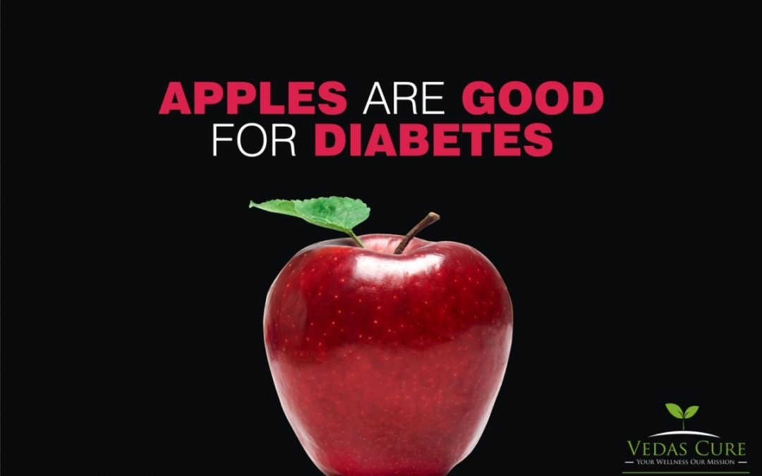 Apples are beneficial in Diabetes